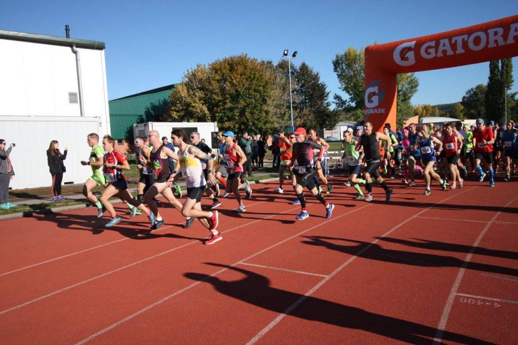Start Pražský maraton ve Stromovce 2019