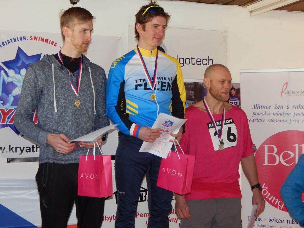 Stupně vítězů Kryathlon 2015